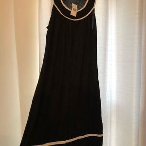 NWT banana republic black short sleeve dress